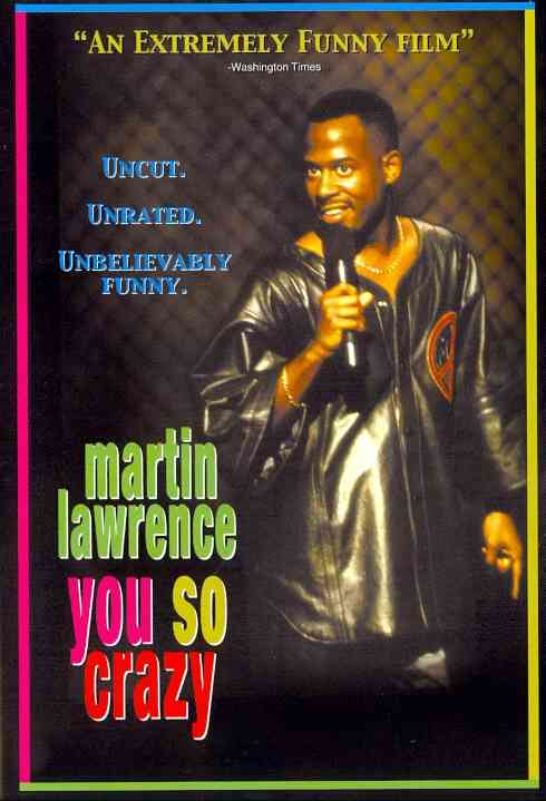 YOU SO CRAZY BY LAWRENCE,MARTIN (DVD)