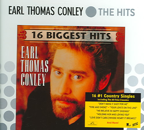16 BIGGEST HITS BY CONLEY,EARL THOMAS (CD)